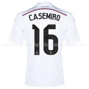 Camiseta de Real Madrid 2014/2015 Primera Casemiro Equipacion