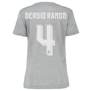 Mujer Camiseta del SERGIO R Real Madrid Segunda Equipacion 2015/2016