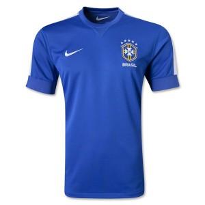 Camiseta de Brasil de la Seleccion 2013/2014 Segunda