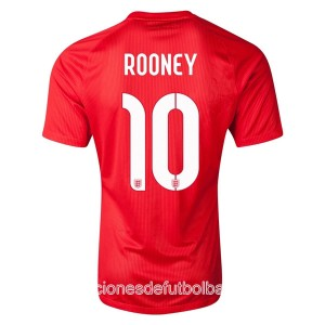 Camiseta del Rooney Inglaterra de la Seleccion Segunda WC2014