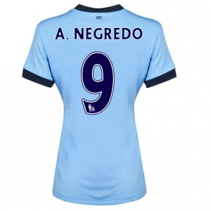 Camiseta del Dzeko Manchester City Tercera 2013/2014