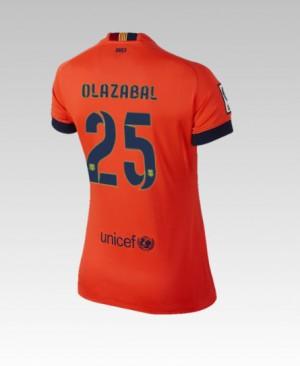 Camiseta de Barcelona 2014/2015 Segunda Bartra