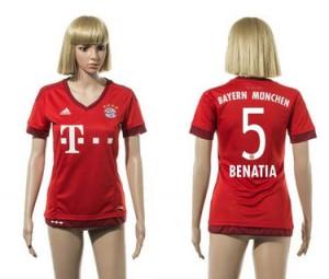 Mujer Camiseta del 5 Bayern Munich 2015/2016