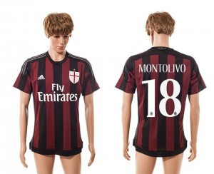 Camiseta nueva del AC Milan 2015/2016 Equipacion Primera