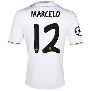 Camiseta del Marcelo Real Madrid Primera Equipacion 2013/2014
