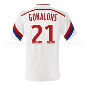 Camiseta de Lyon 2014/2015 Primera Gonalons