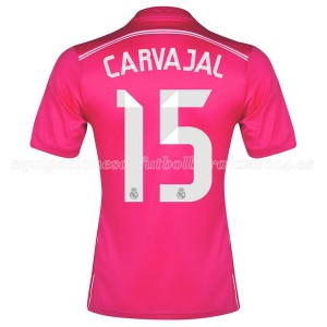 Camiseta del Carvajal Real Madrid Segunda Equipacion 2014/2015