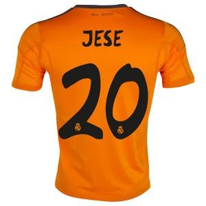 Camiseta de Real Madrid 2013/2014 Tercera Jese Equipacion