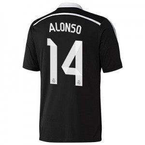 Camiseta Real Madrid Alonso Primera Equipacion 2014/2015