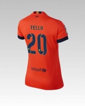 Camiseta Barcelona Alexis Tercera Equipacion 2013/2014