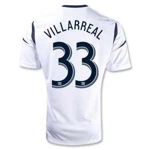Camiseta nueva del Los Angeles Galaxy 2013/2014 Villarreal Primera