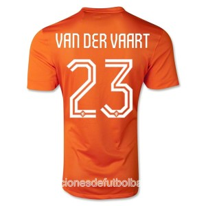 Camiseta de Holanda WC2014 Primera Van Der Vaart