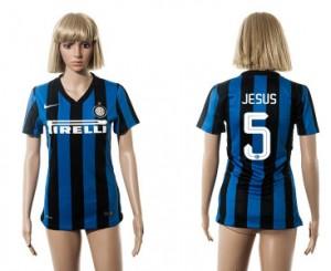 Camiseta nueva del Inter Milan 2015/2016 5 Mujer