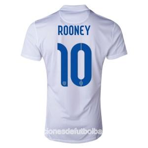 Camiseta de Inglaterra de la Seleccion WC2014 Primera Rooney