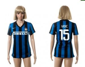 Camiseta nueva del Inter Milan 2015/2016 15 Mujer