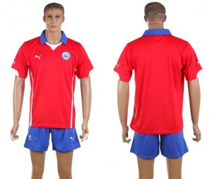 Camiseta del Chile de la Seleccion Primera