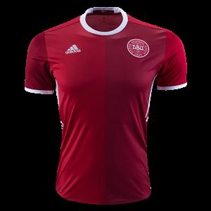 Camiseta de Dinamarca 2016 Primera Equipacion