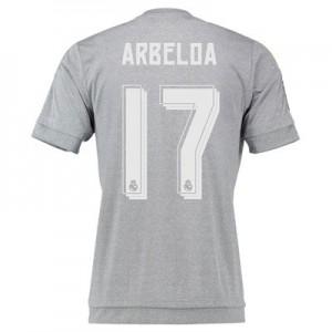 Camiseta nueva del Real Madrid 2015/2016 Equipacion Numero 17 ARBE Segunda