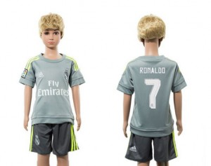Camiseta nueva del Real Madrid 2015/2016 7 Niños Away