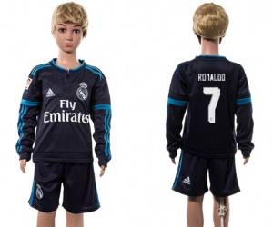 Niños Camiseta del 7# Real Madrid Manga Larga 2015/2016