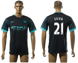 Camiseta del 21# Manchester City Away aaa version