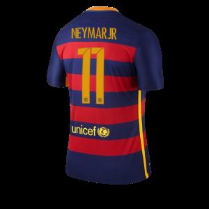 Camiseta nueva del Barcelona 2015/2016 Equipacion Numero 11 NEYMAR Primera