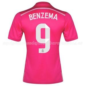 Camiseta Real Madrid Benzema Segunda Equipacion 2014/2015