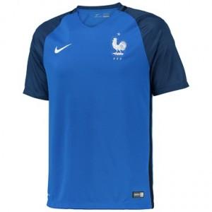 Camiseta Francia Primera Equipacion 2016