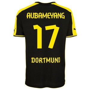 Camiseta Borussia Dortmund Aubameyang Segunda 2013/2014