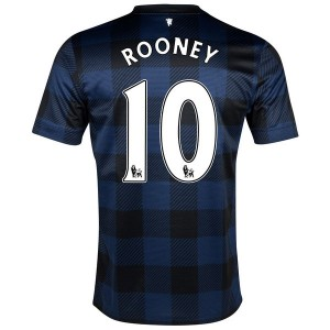 Camiseta nueva Inglaterra de la Seleccion Rooney Segunda 2013/2014
