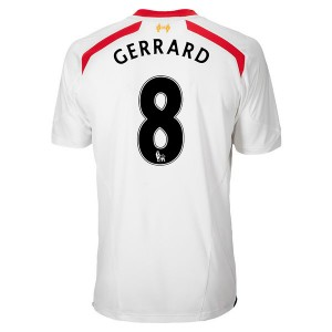 Camiseta de Inglaterra de la Seleccion 2013/2014 Segunda Gerrard