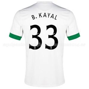 Camiseta nueva Celtic B.Kayal Equipacion Tercera 2014/2015