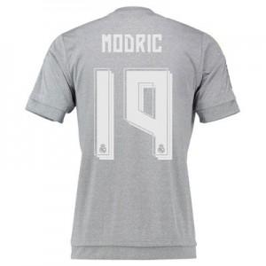 Camiseta Real Madrid Numero 19 MODR Segunda Equipacion 2015/2016