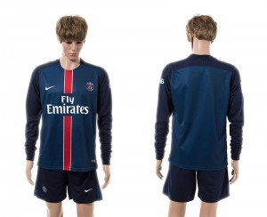 Camiseta nueva Paris Saint Germain Manga Larga Primera 15/16