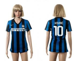 Mujer Camiseta del 10 Inter Milan 2015/2016
