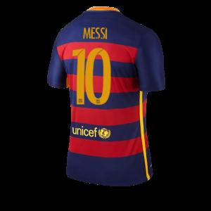 Camiseta de Barcelona 2015/2016 Primera Numero 10 MESSI Equipacion