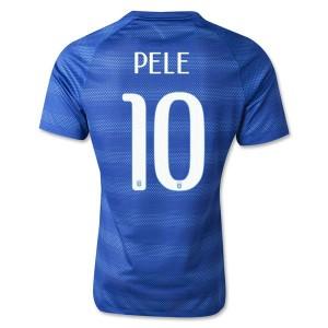Camiseta de Brasil de la Seleccion WC2014 Segunda Pele