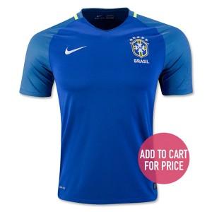 Camiseta del Brasil Segunda Equipacion 2016