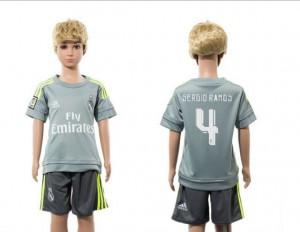 Camiseta nueva del Real Madrid 2015/2016 4 Niños Away