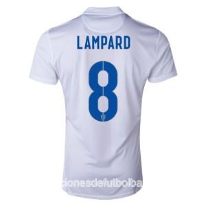 Camiseta del Lampard Inglaterra de la Seleccion Primera WC2014