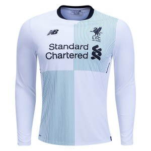 Camiseta de Liverpool 2017/2018 Away Long Sleeve