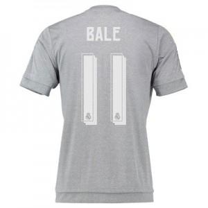 Camiseta Real Madrid Numero 11 BALE Segunda Equipacion 2015/2016