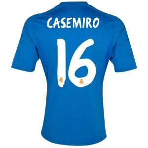 Camiseta Real Madrid Casemiro Segunda Equipacion 2013/2014