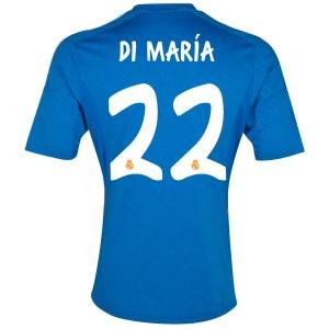 Camiseta nueva Real Madrid Di Maria Equipacion Segunda 2013/2014
