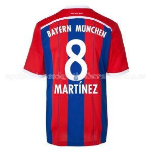 Camiseta nueva Bayern Munich Martinez Equipacion Primera 2014/2015