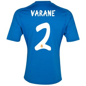 Camiseta nueva Real Madrid Varane Equipacion Segunda 2013/2014