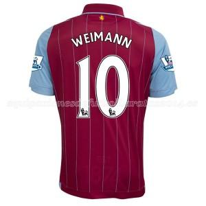 Camiseta nueva del Aston Villa 2014/15 Equipacion Weimann Primera