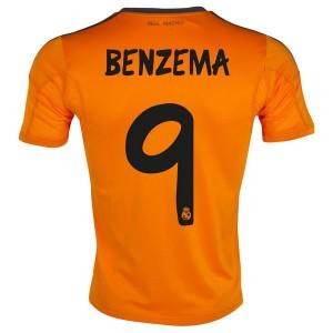 Camiseta nueva del Real Madrid 2013/2014 Equipacion Benzema Tercera