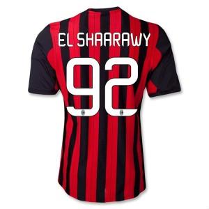 Camiseta de AC Milan 2013/2014 Primera El Shaarawy Equipacion