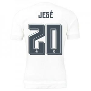 Camiseta del Numero 20 JESE Real Madrid Primera Equipacion 2015/2016